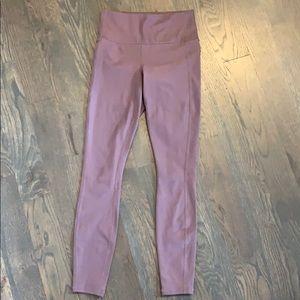 Purple Athleta leggings
